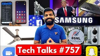 Tech Talks #757 - Redmi 7 Hands On, Galaxy A40, Xiaomi Washing Machine, Tim Apple, Google Duo