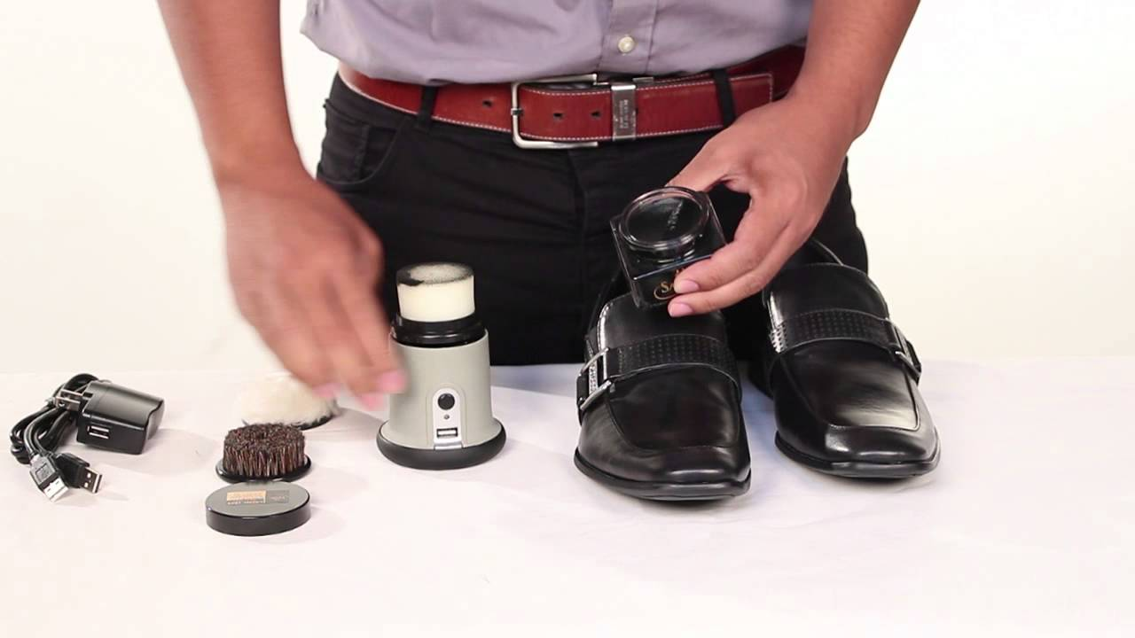 How to Use the Ray Charles Easy Shine Electric Shoe Polisher