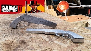 Red Dead Redemption 2 - Volcanic Pistols from Molten Aluminum