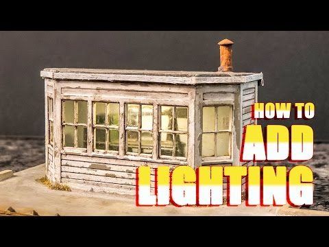 How to Add Lighting to a Model Building