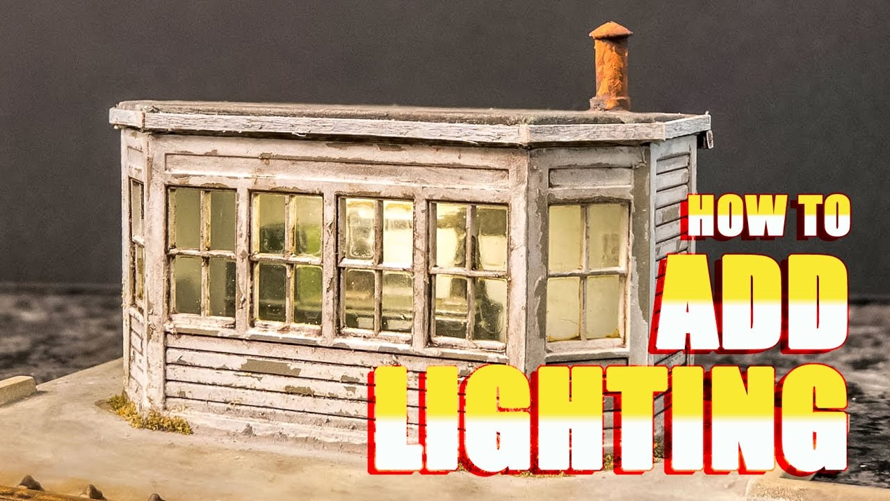 How To Add Lighting A Model Building