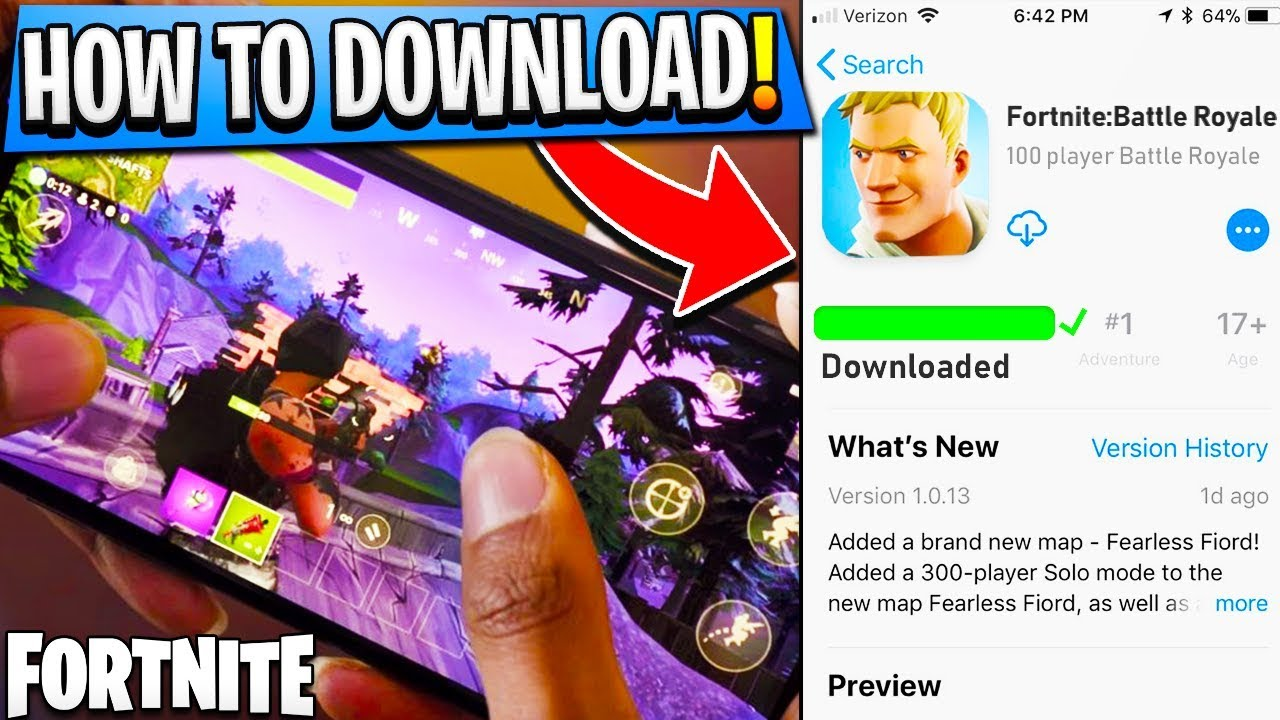 fortnite ios android free download fortnite battle royale - fortnite ios apk