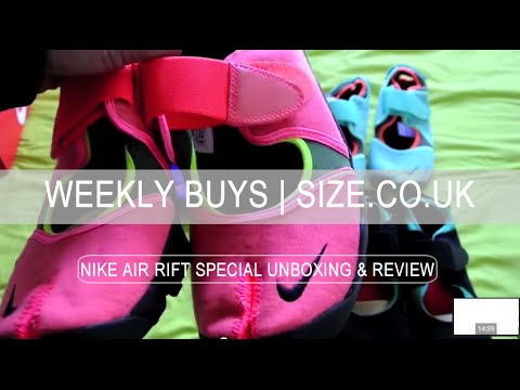 Mens NIKE AIR RIFT SPECIAL Multiple Colourway Review SIZE Unboxing