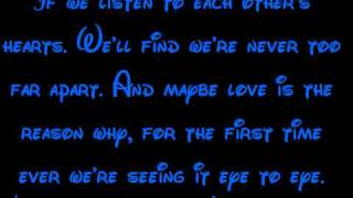 Eye-To-Eye - A Goofy Movie Lyrics HD