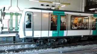 RATP Metro Ligne 1 à 14