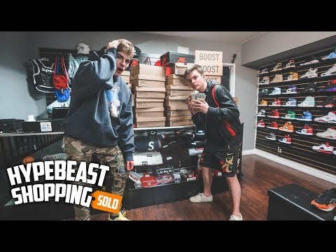 15-Year-Old Millionaire Spends $14,000 Dollars Hypebeast Shopping!