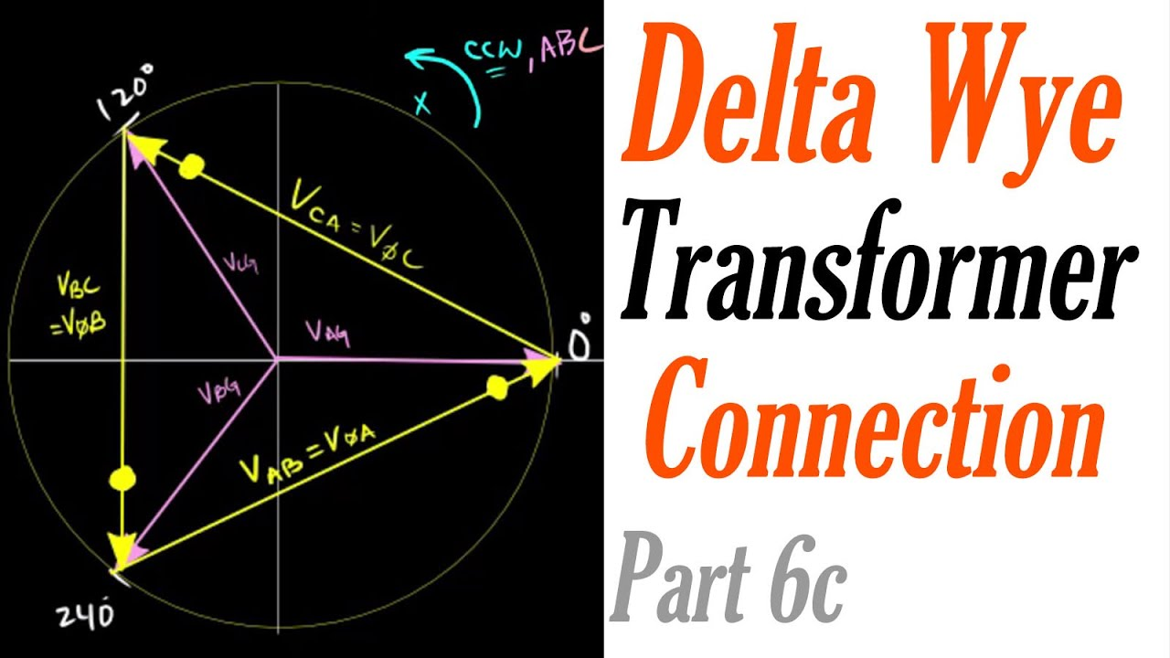 phasor diagram of single phase transformer citroen berlingo van wiring introduction to the delta wye connection part