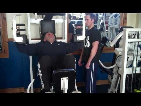 Nautilus High Intensity Training Workout.