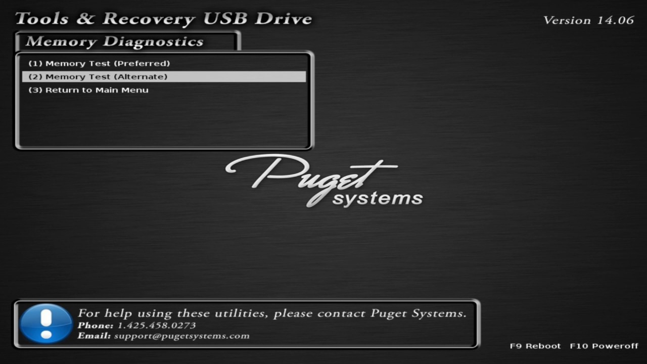 running memtest from usb tools drive youtube