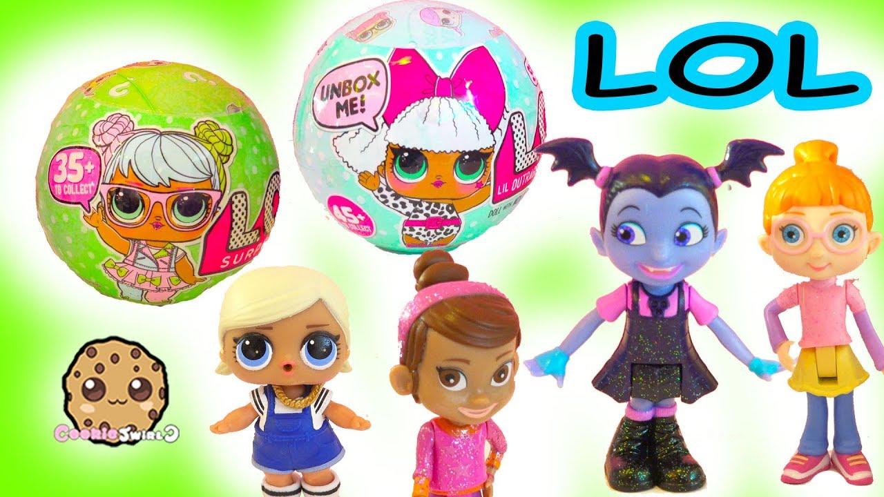 Lol Surprise Blind Bag Baby Doll Ball Disney Vampire