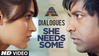 She Needs Some Dialogue | Amar Akbar Antony Dialogues | Ravi Teja, Ileana D'Cruz | Thaman
