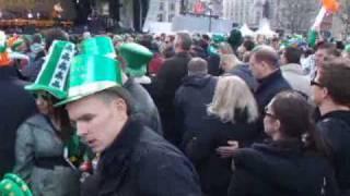 St Patricks Day London 2010 Trafalgar Square