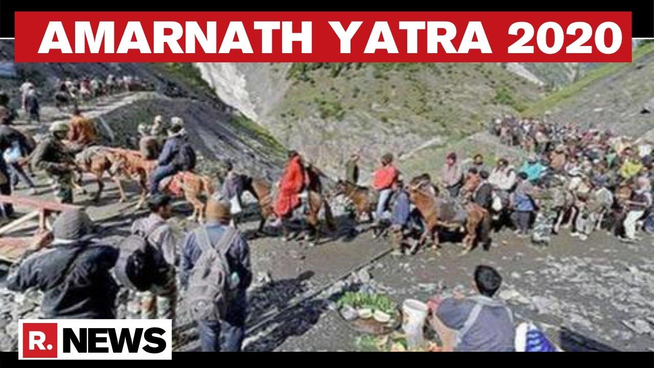 Breaking News - Amarnath Yatra Cancelled