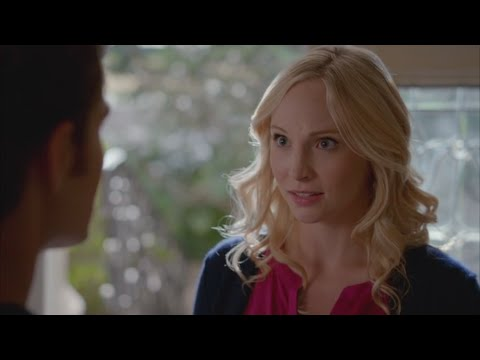 The Vampire Diaries: 7x08 - Caroline tells Stefan that she is pregnant with Alaric's twins [HD]