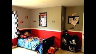 Baby boy room decoration & accessories cars theme