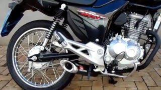 Escape Esportivo Disarsz Cg Titan e Fan 160cc
