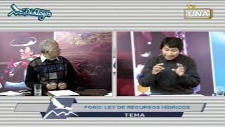 IDECA TV (Diálogos 73): Foro – Ley de Recursos Hídricos
