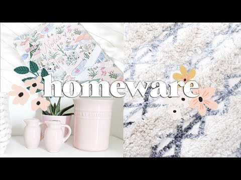 Homeware Haul for the New House 🏡