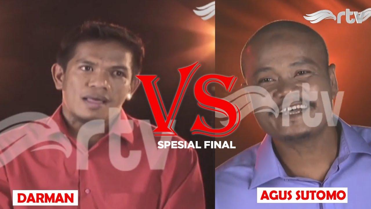Darman melawan Agus Sutomo, siapa yang akan mengangkat Trofi Adu Kuat?
