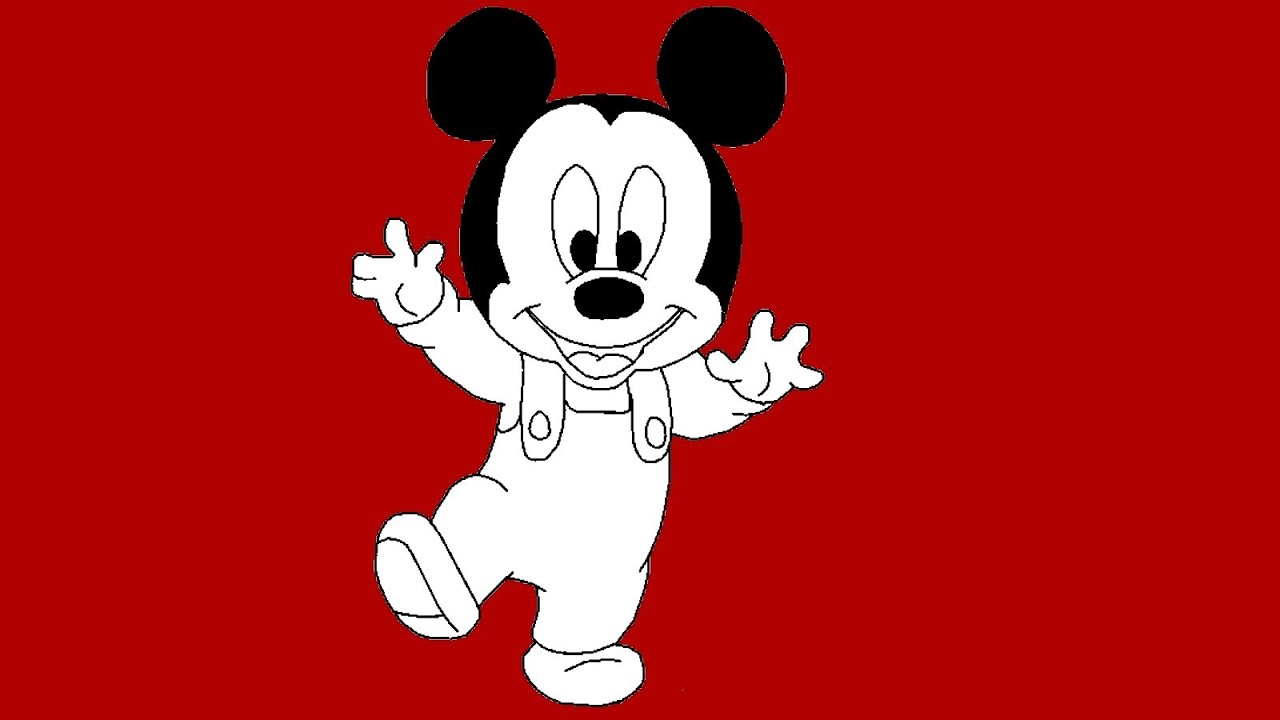 How To Draw Mickey Mouse From Mickey Mouse Clubhouse