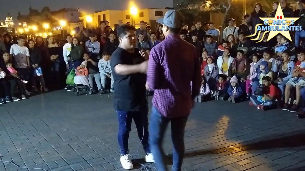 Frejolito JR y Llanini Comenzando el Show de Sabado | Comicos Ambulantes 2019