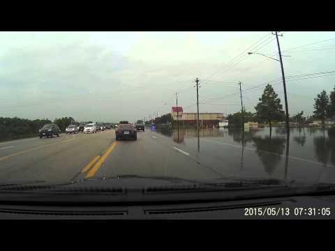 Webster, TX Highway 3 Flooding 05/13/15