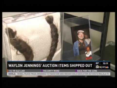 NBC News: Craters & Freighters Phoenix Crates & Ships 2,000 Rare Waylon Jennings Auction Items