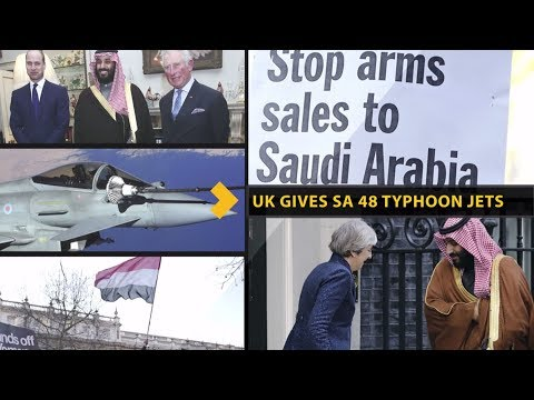 UK Gives Saudi Arabia 48 Typhoon Jets