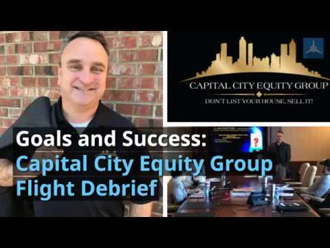 Carson Olinger - Capital City Equity Group Flight Debrief Video 2 9 18