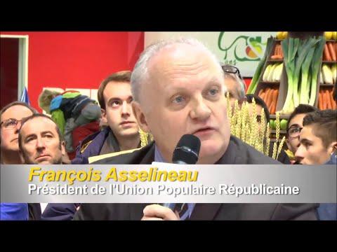 """Débat: François Asselineau - Nicolas Dupont-Aignan - SIA 2016 - """"Politiques à la ferme"""" - TV-AGRI"""