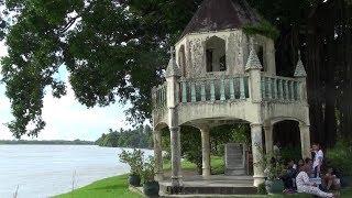 Banza Church Ruins & Balangay Boat in Butuan, Philippines