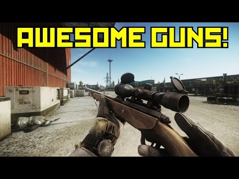 New Guns So Good They Shoot Through Doors - Escape From Tarkov