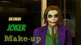 Batman-The Joker Make-up Tutorial
