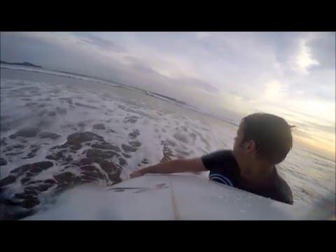 Surf Playa Colorado - Nicarágua - Parte I