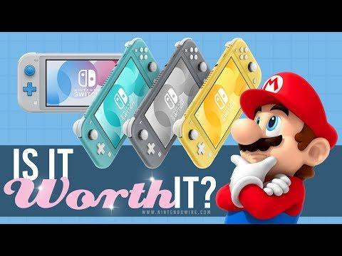 Is the Nintendo Switch Lite Worth It?   Nintendo Wiretap