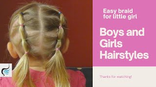 Toddler Proof Pigtails Hairstyle Tutorial