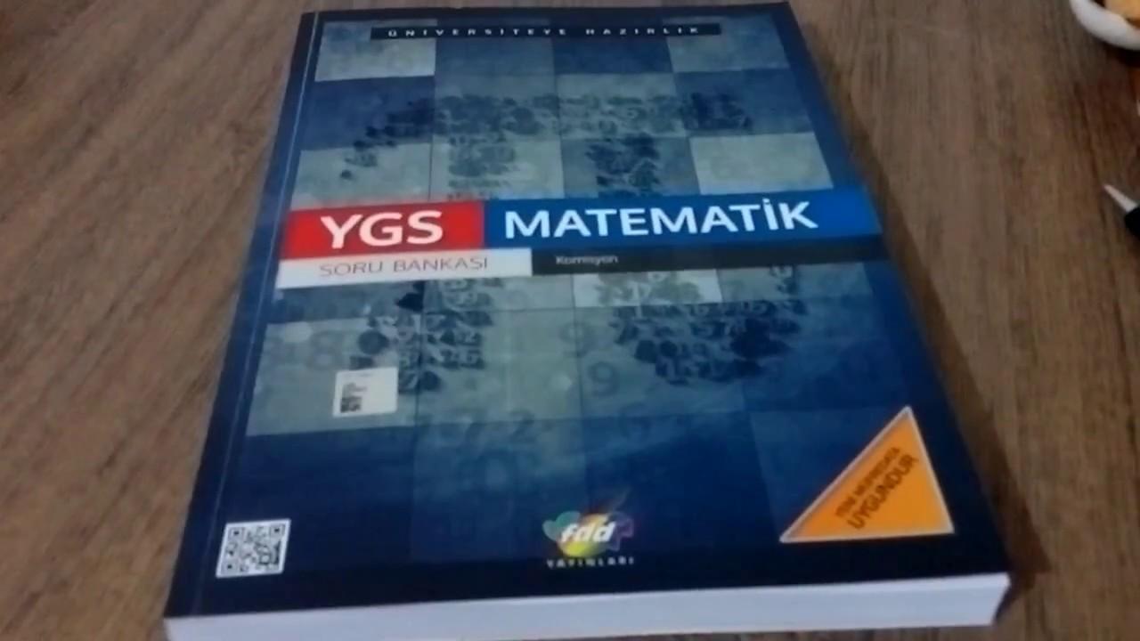 Fdd Yayınları Tyt Matematik Soru Bankası Incelemesi Youtube