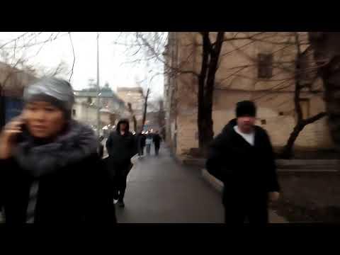 Москва 1529 Большая Татарская улица зима день
