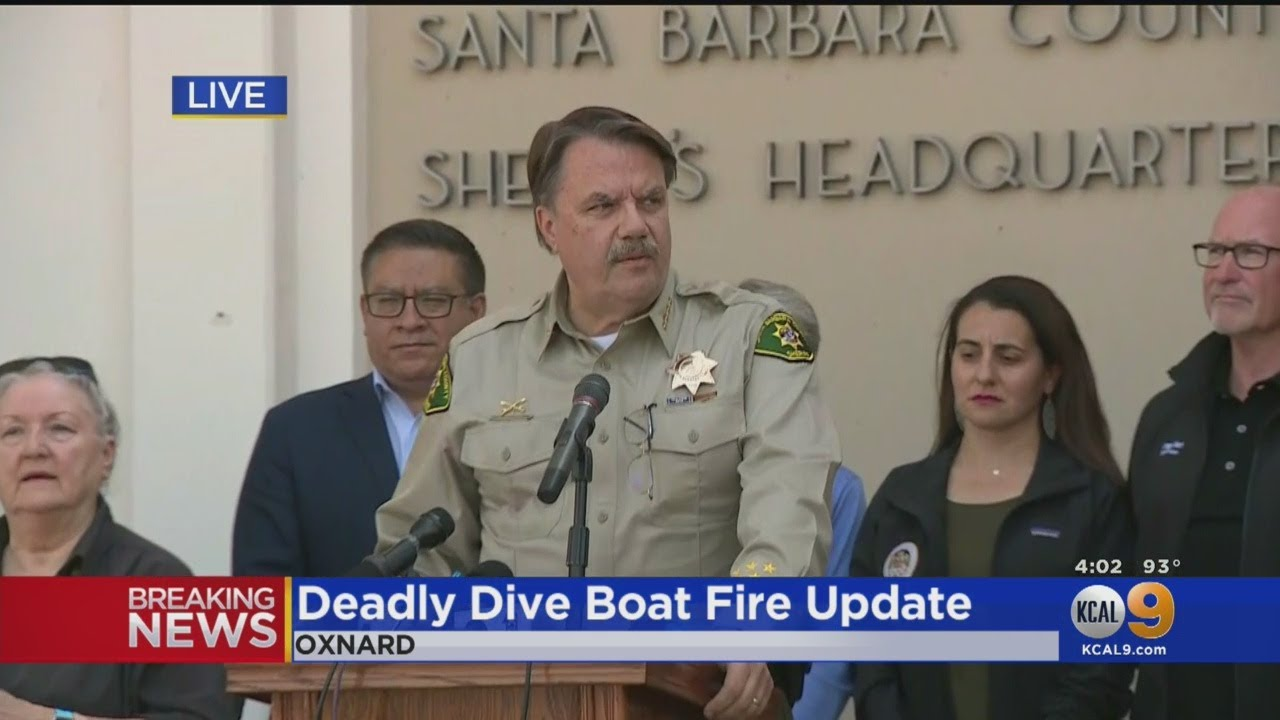 How did crew members survive California boat fire? Their location allowed for escape, sheriff says