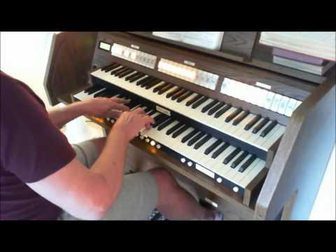Lead, Kindly Light ( Tune SANDON ) organpipe8