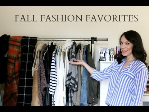 Recent Fall Fashion Purchases + Favorites