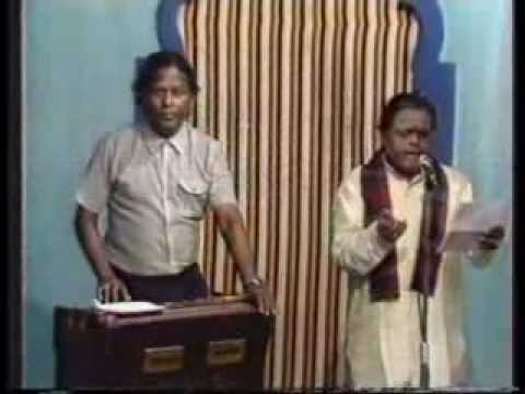 Padmashri Dr. Seerkazhi S. Govindarajan Song Recording for a Television Channel Rare Video