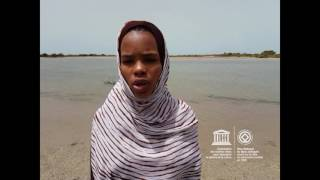 Oumou #MyOceanPledge Banc d'Arguin National Park World Heritage marine site