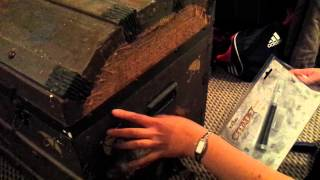 Removing Canvas From An Old Chest Trunk Pt. 1