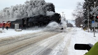 AWESOME! The REAL Polar Express, Pere Marquette 1225, Train Talk for Kids from Kids