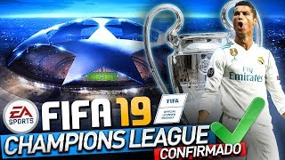 """VAZOU"" CHAMPIONS LEAGUE e EURO LEAGUE FIFA 19 (XBOX ONE e PS4)"