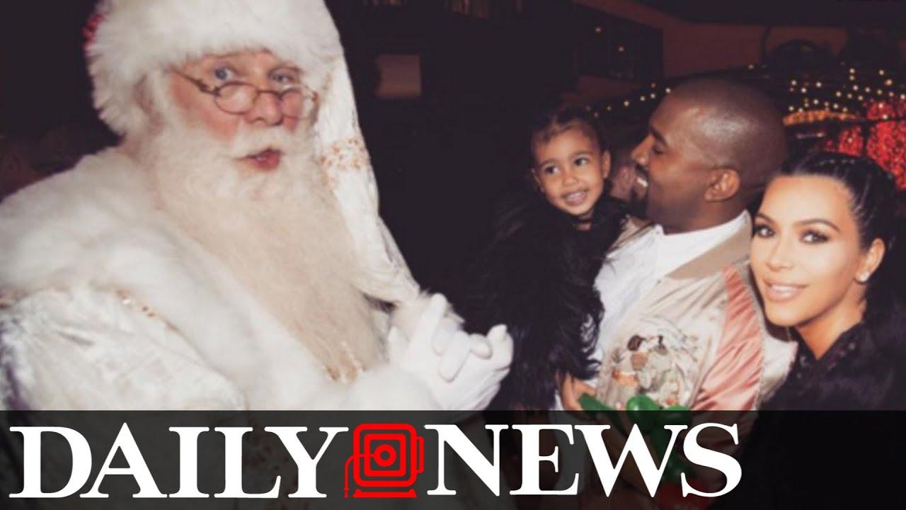 Kanye West Gave Kim Kardashian More Than 150 Christmas Gifts - YouTube