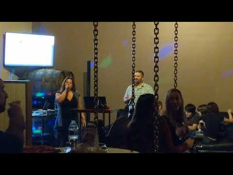 Angelique Dougherty at FTBC Karaoke Night 3/14/18