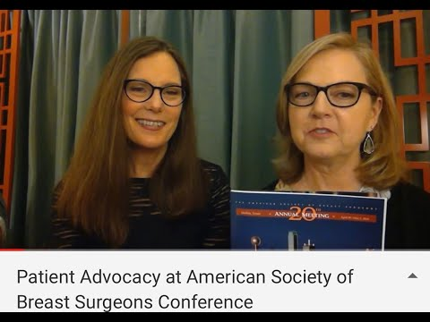 Patient Advocacy At American Society Of Breast Surgeons Conference