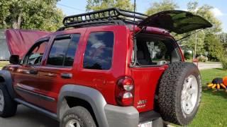 jeep liberty uniden 880 cb firestik antenna mk 204r mount